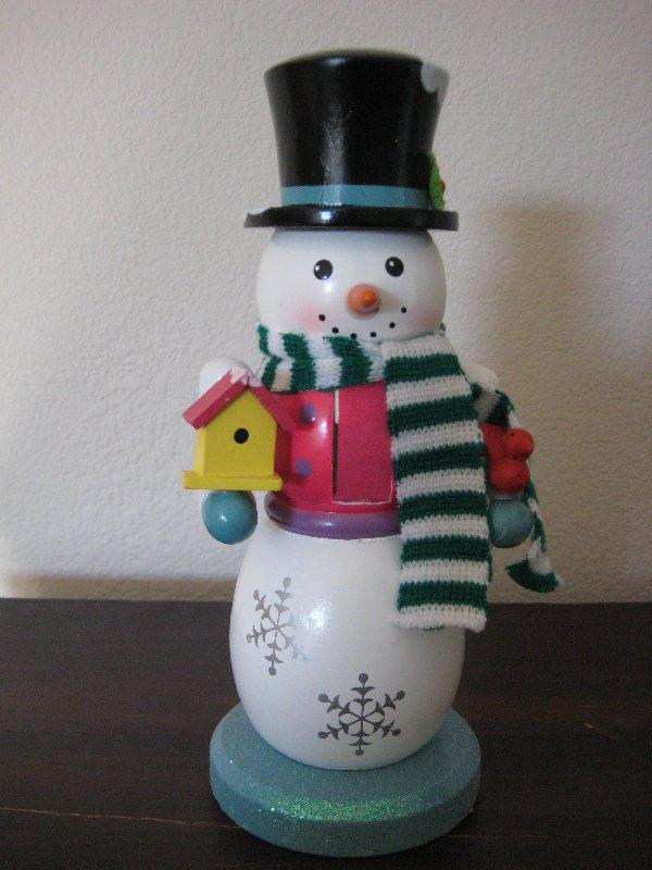 snowmen nutcrackers